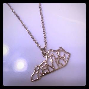 Jewelry - Gold Kentucky Necklace